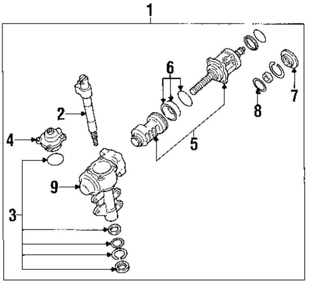 Mopar Direct Parts Dodge Chrysler Jeep Ram Wholesale Retail Diagram Of 1988 Nissan Stanza Engine Genuine Sector Shaft Nis 4938183g00