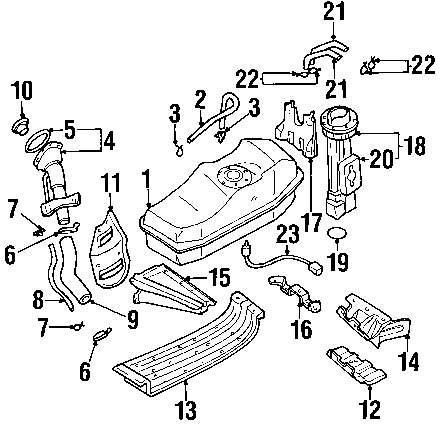 2002 nissan fuel system diagram  nissan  auto parts catalog and diagram