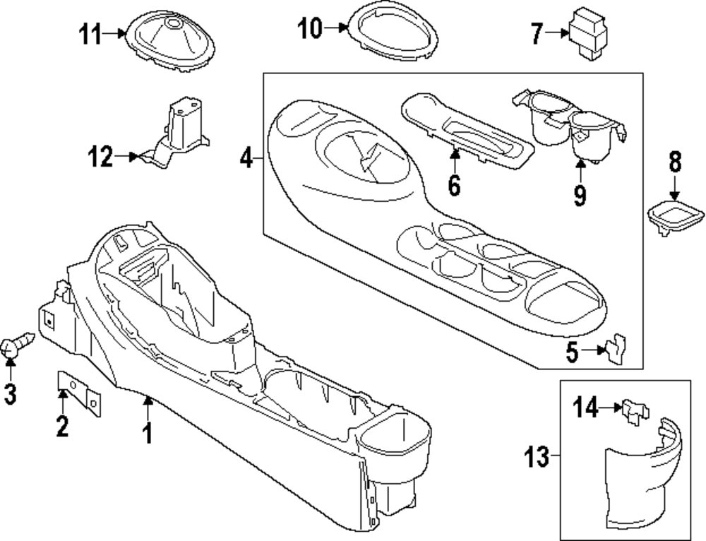 nissan juke parts diagram
