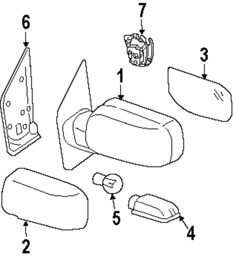 2006 mitsubishi endeavor brakes diagram
