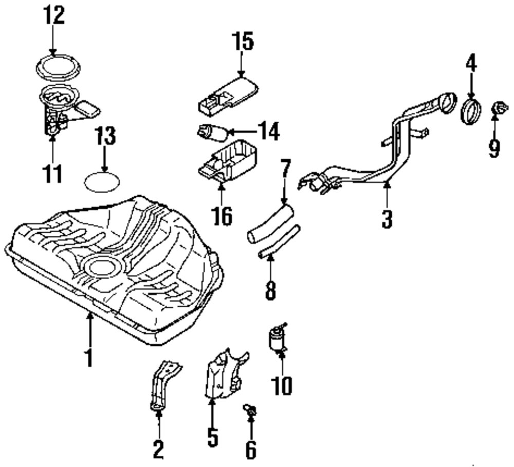 Browse A Sub Category To Buy Parts From This Is Not Real Site Nissan Fuel System Genuine Pump Bracket Nis 170134b000