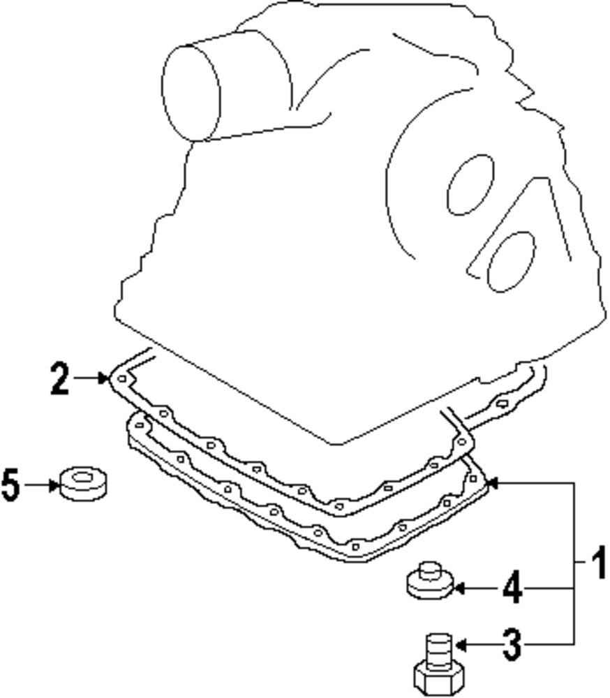 Browse A Sub Category To Buy Parts From 2012 Nissan Rogue Engine Diagram Genuine Trans Pan Nis 313901xb01