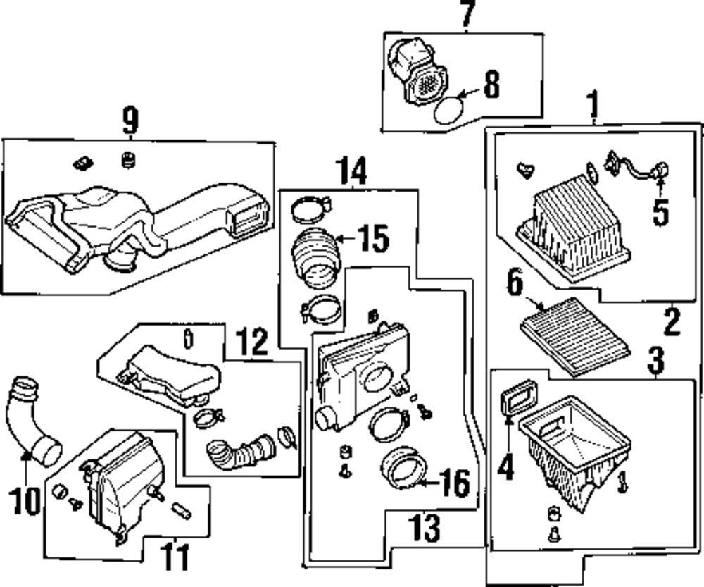 Browse A Sub Category To Buy Parts From Nissan Engine Diagram Air Mass Sensor O Ring