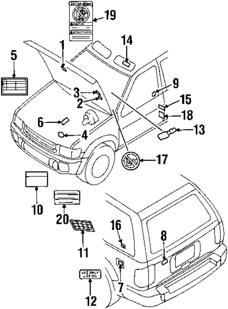 Infiniti Vacuum Diagram