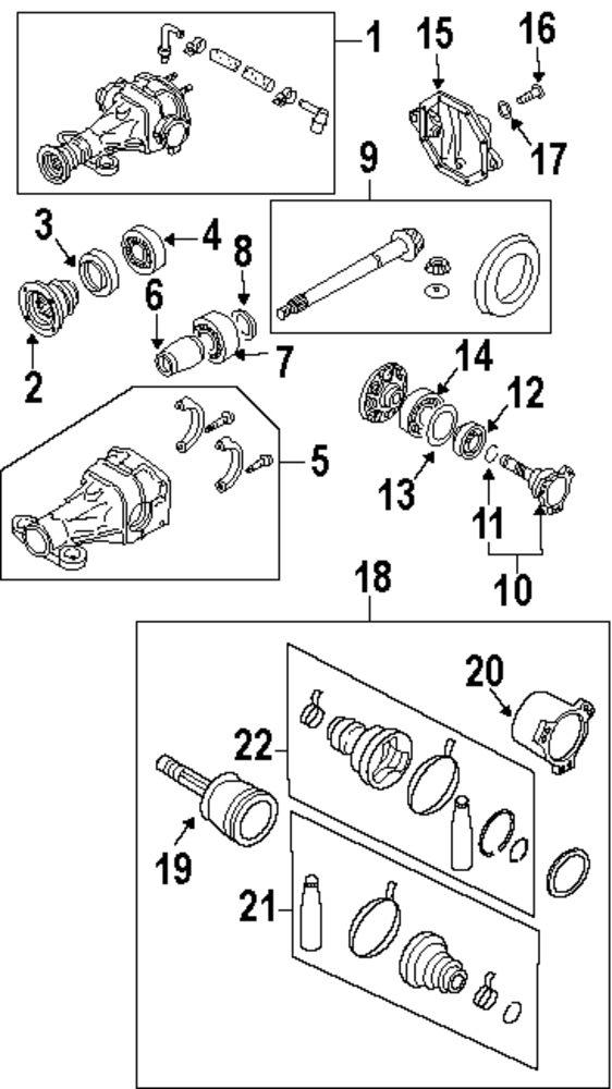 infiniti g35 parts model