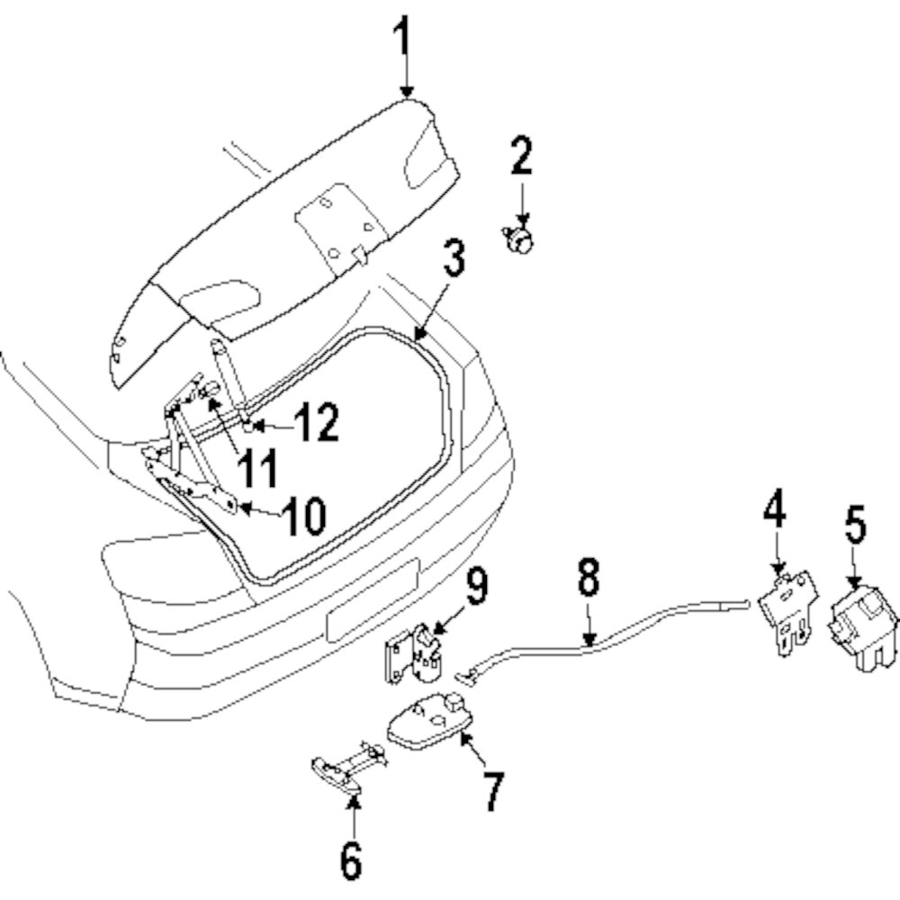 Browse A Sub Category To Buy Parts From Infiniti Fuel Pump Diagram Genuine Release Handle Holder Inf 846945y000