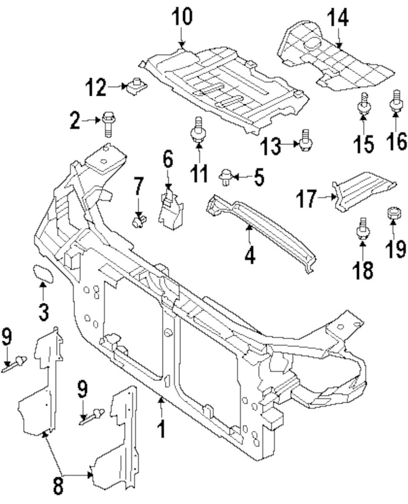 Browse A Sub Category To Buy Parts From Infiniti Fuel Pump Diagram Genuine Air Guide Inf 62811cg000