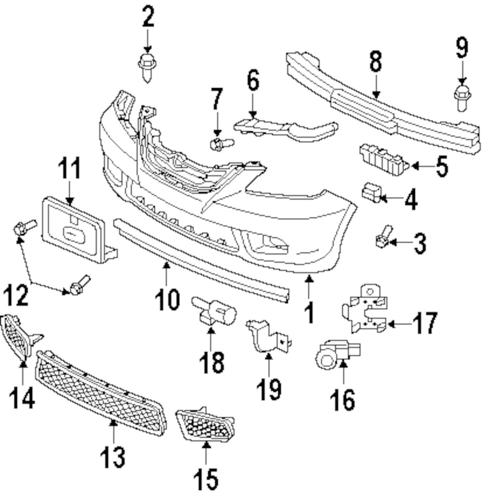 Honda Odyssey Exhaust System Diagram Trusted Wiring Mini Cooper Engine 2001 Body Parts Electricity