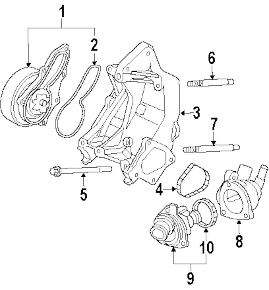 2007 mitsubishi raider engine parts diagram 2003