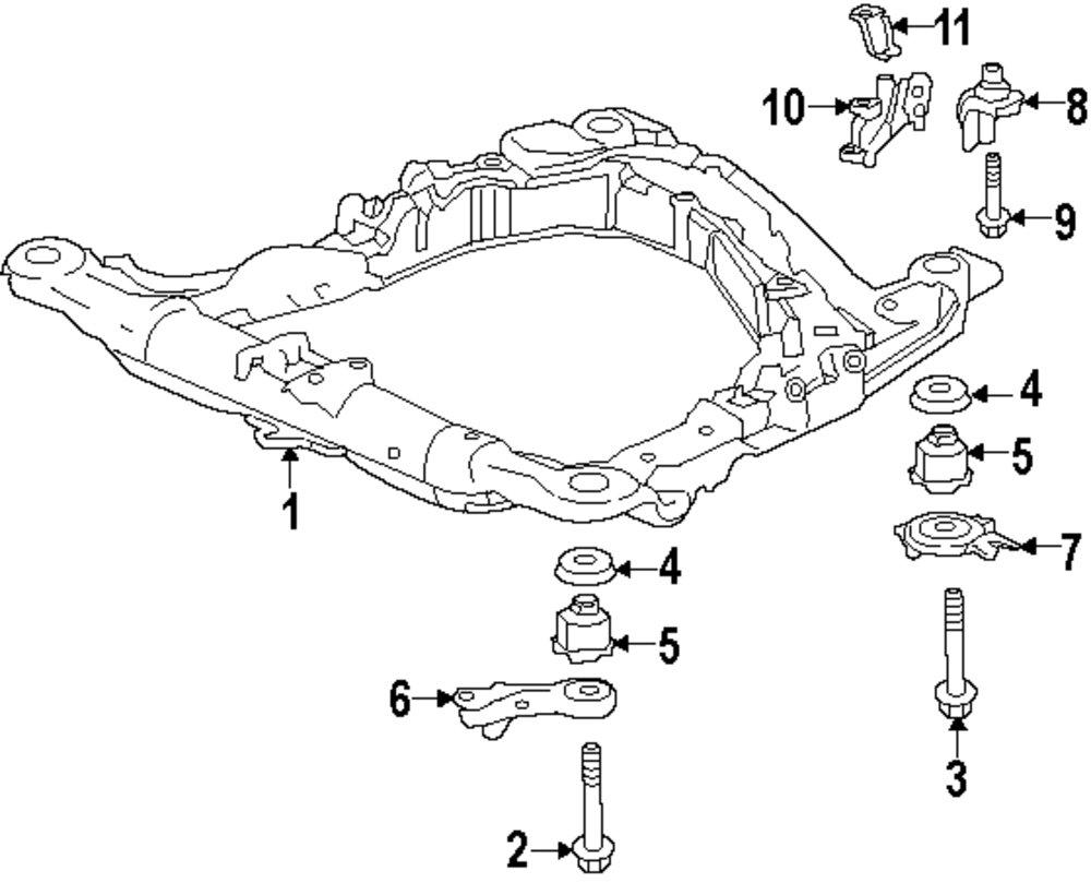 honda pport front suspension diagram  honda  auto parts