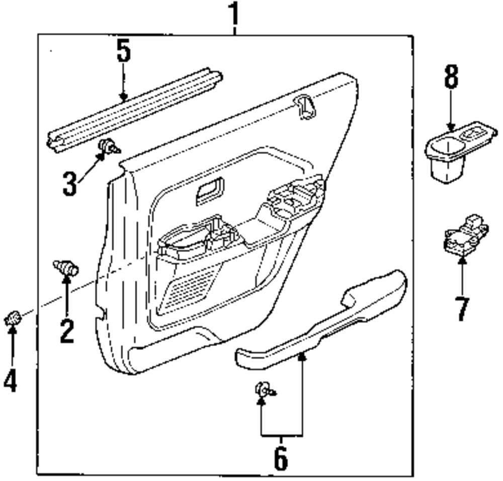 honda pilot exterior parts diagram