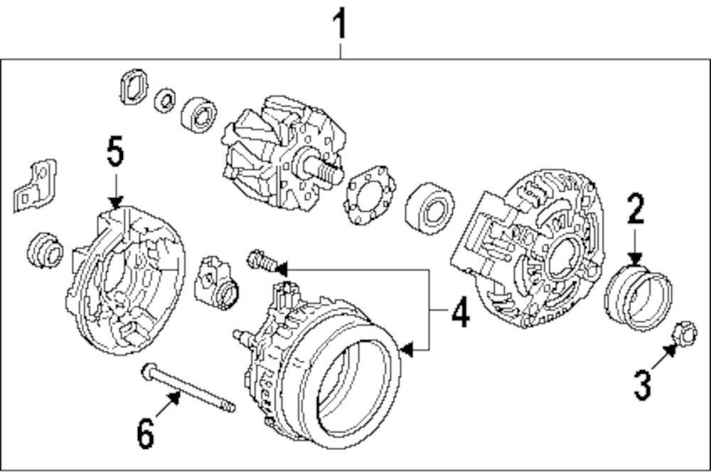 1995 Land Rover Range Rover Electrical Parts
