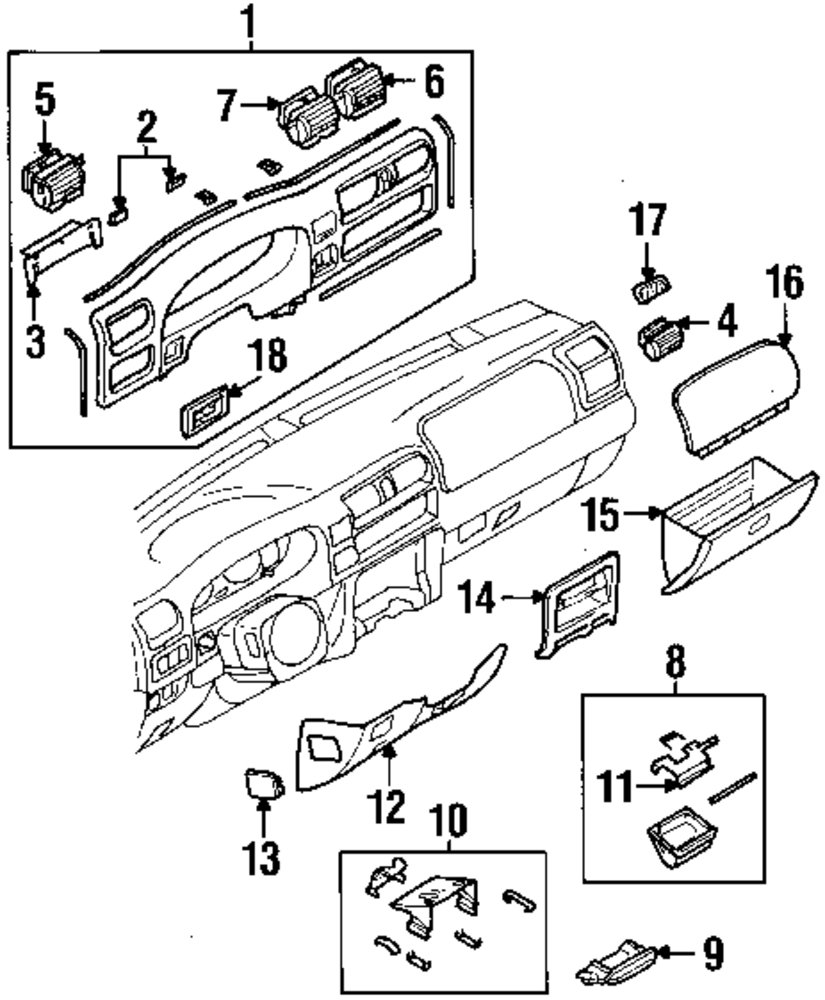 2001 isuzu rodeo parts catalog