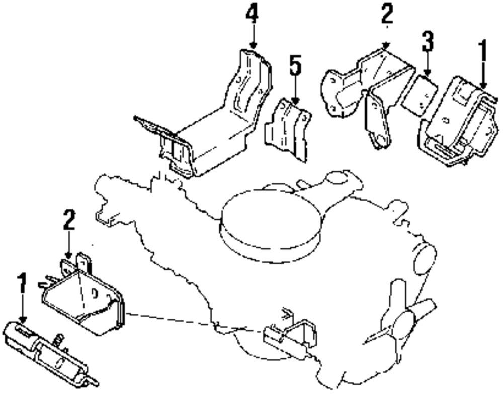 1988 isuzu trooper engine diagram