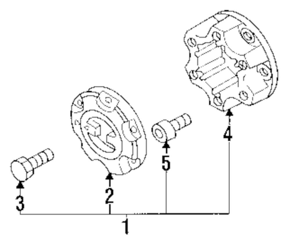 mopar direct parts dodge chrysler jeep ram wholesale retail parts Isuzu Rodeo Sport Engine Diagram genuine isuzu cover bolt isu 8971361570