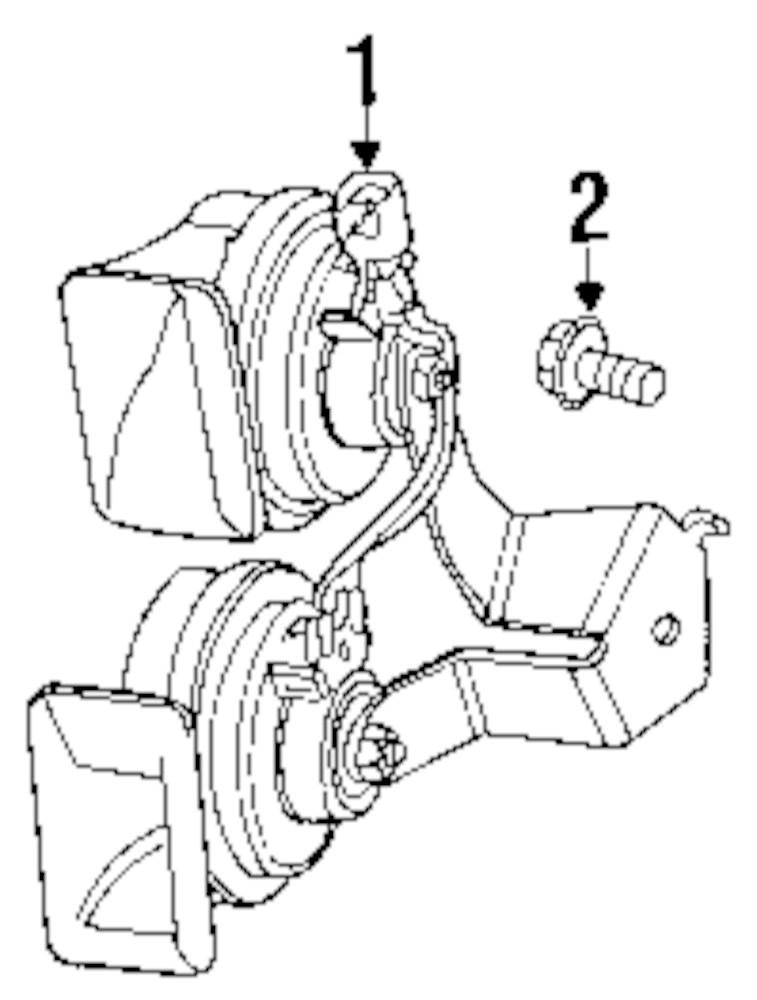 Jeep Horn Diagram
