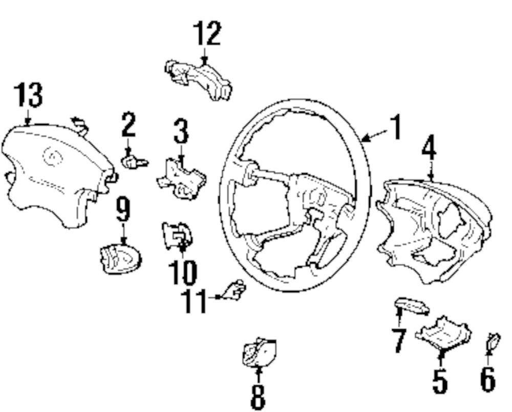 browse a sub category to buy parts from this is not a real site Dodge Ram Steering Column Diagram genuine acura steering wheel plate acu 78509s84a61