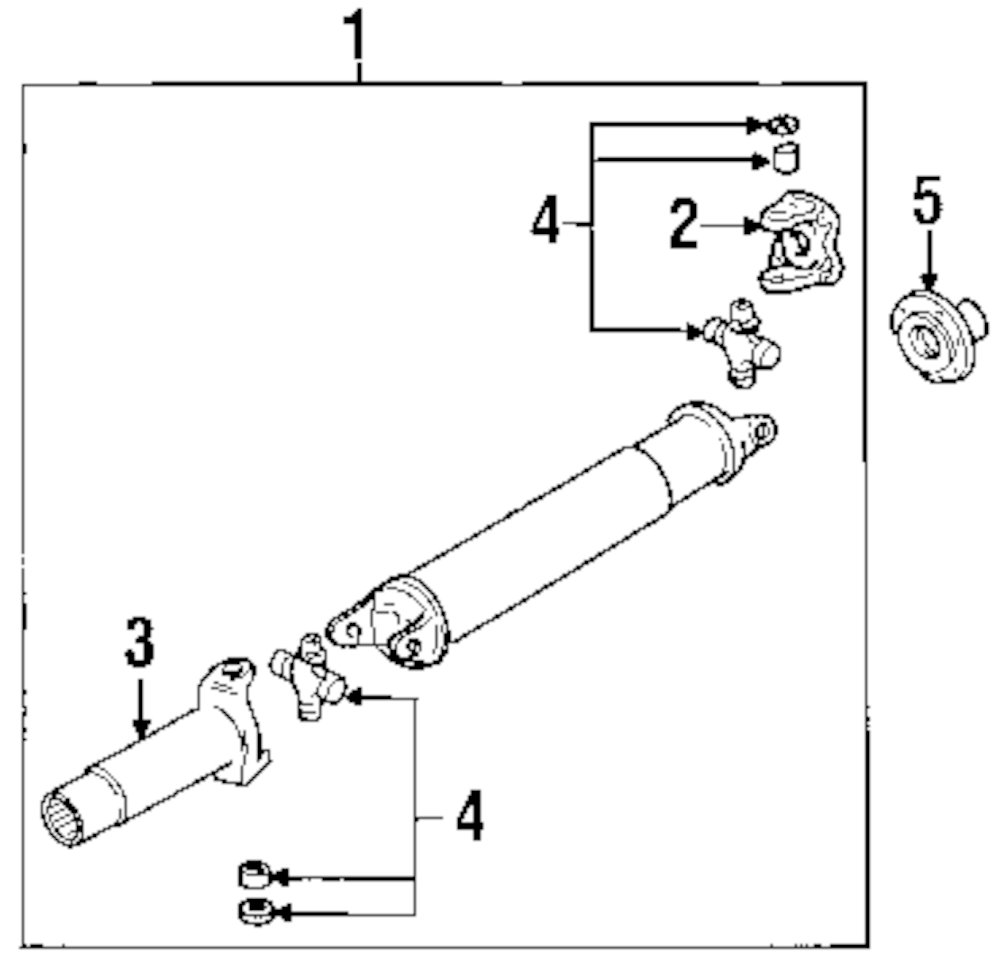 mazda b2300 driveshaft parts diagram  mazda  auto parts