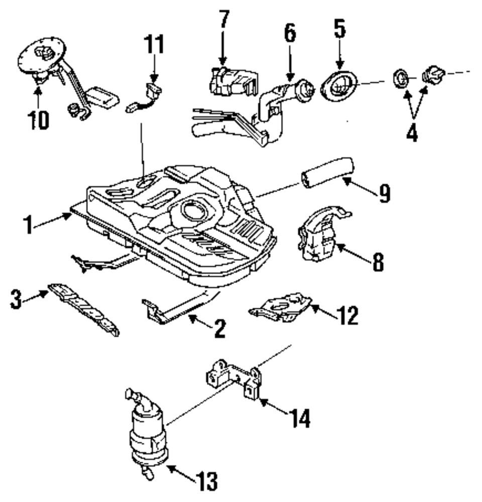 Front Left Genuine Hyundai 88160-39701-PBN Seat Cushion Cover