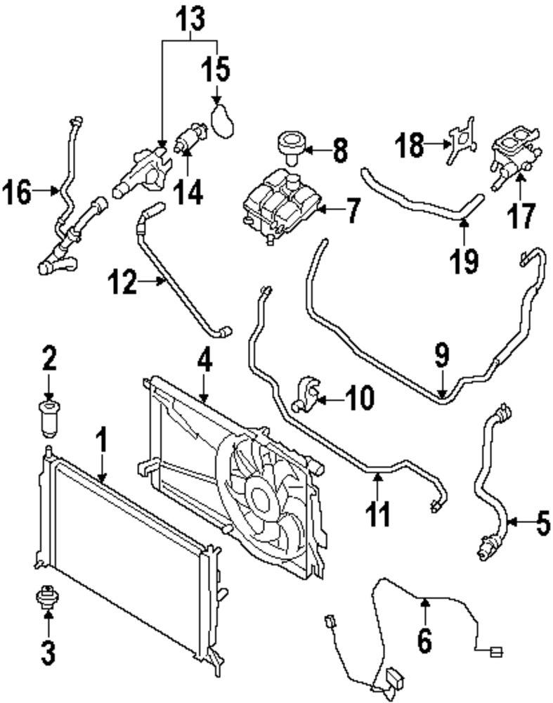 2006 mazda 3 radiator diagram wiring diagram all data 2009 Chevy Cobalt Fuse Box Diagram mopar direct parts dodge chrysler jeep ram wholesale retail parts 2006 mazda 3 fuse box diagram 2006 mazda 3 radiator diagram