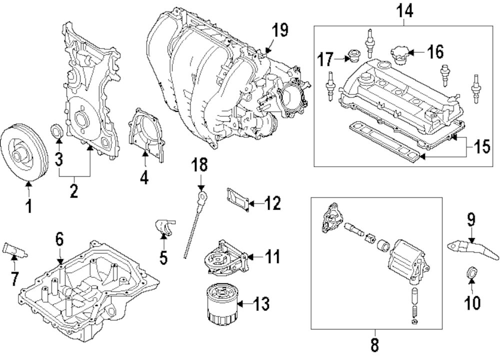 2014 Buick Encore Engine And Transaxle Parts This Is Not