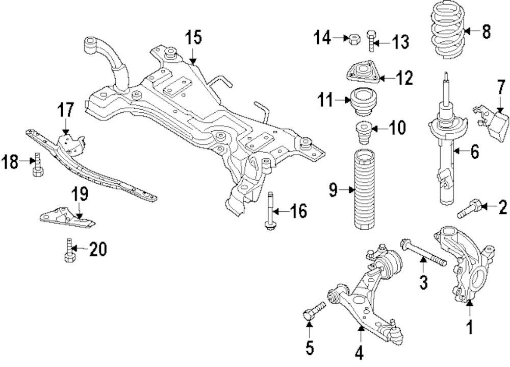 2012 mazda 3 exhaust diagram