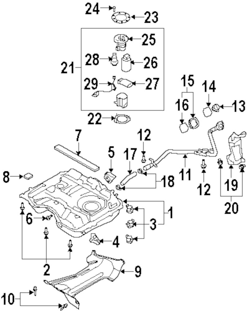 Mopar Direct Parts Dodge Chrysler Jeep Ram Wholesale Retail Fuel Pressure Diagram Genuine Mazda Reg Maz Cy0313280