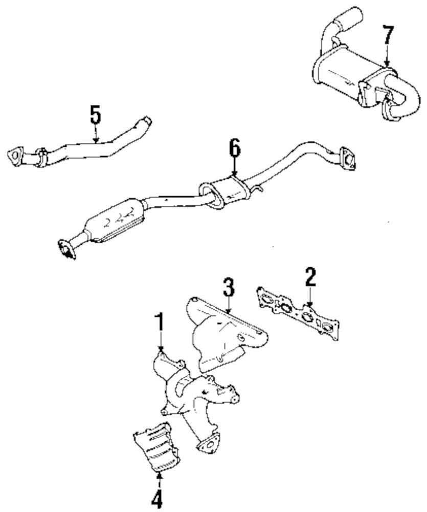 Converters Mazda 6 Engine Parts Diagram Schematic Diagrams. Mazda Miata Exhaust Parts Diagram Online Schematic \u2022 626 Engine Converters 6. Mazda. 2001 Mazda 626 Exhaust System Diagram At Scoala.co