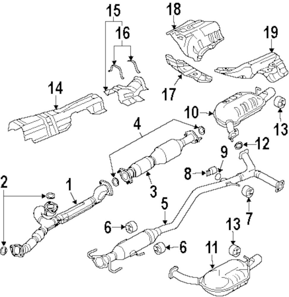 Mopar Direct Parts Dodge Chrysler Jeep Ram Wholesale Retail 318 Engine Fuel System Diagram Center Shield Pad