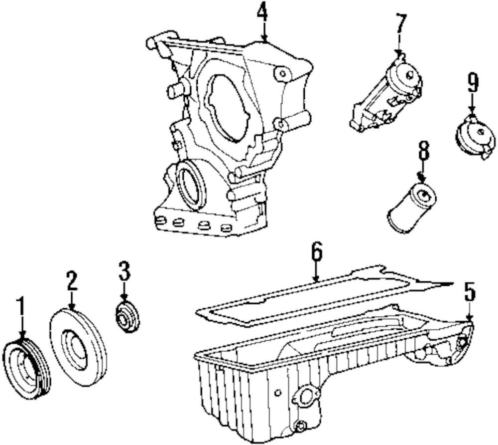 Buy Engine Parts For Mercedes Benz E300 Vehicle Genuine Filter Element Mbz 6011800109