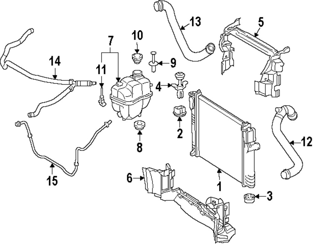 Mercedes Benz Radiator Diagram - Wiring Diagram •