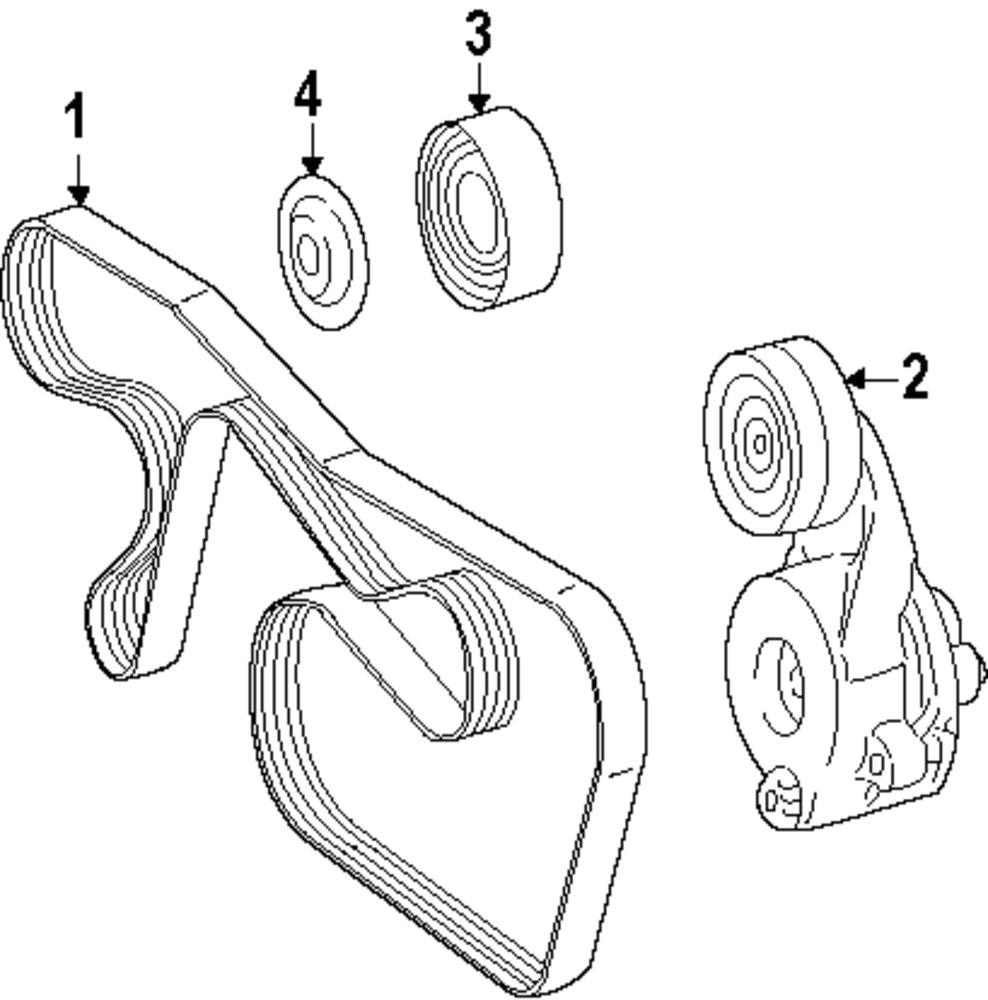 1991 mercedes 300e belt diagram
