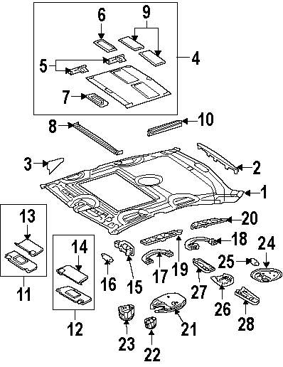 2007 mercedes e350 parts diagram
