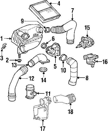 mercedes sl600 engine diagram