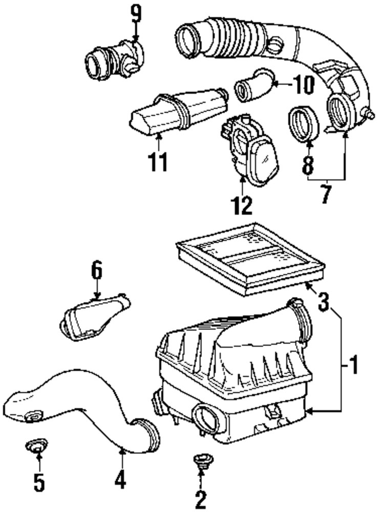 Mercedes A140 Engine Diagram