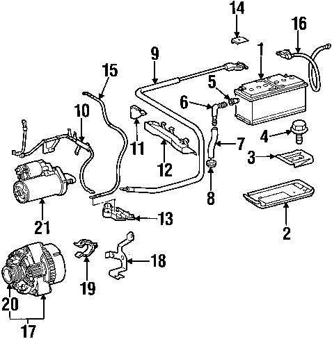 Browse A Sub Category To Buy Parts From 1993 Mercedesbenz 400sel Engine Wiring Harness Genuine Mercedes Benz Positive Cable Bracket Mbz 2105461943