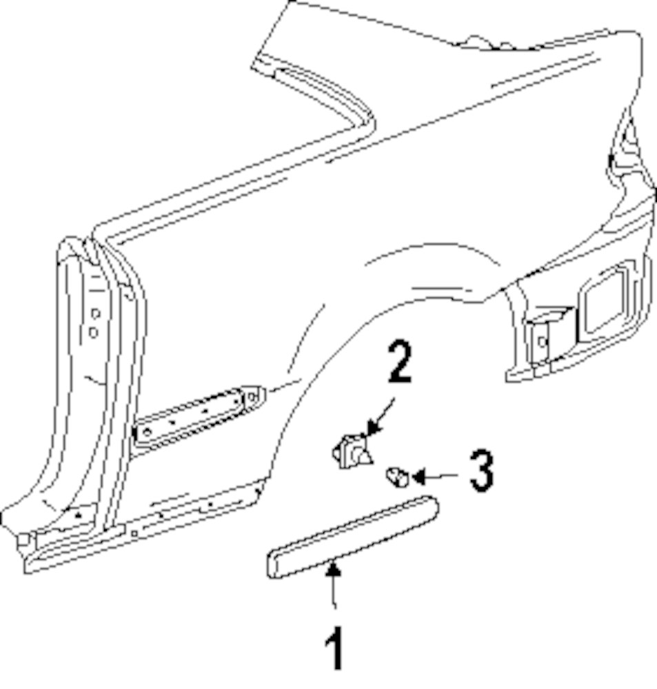 Browse a sub category to buy parts from mopardirectparts for Mercedes benz exterior parts