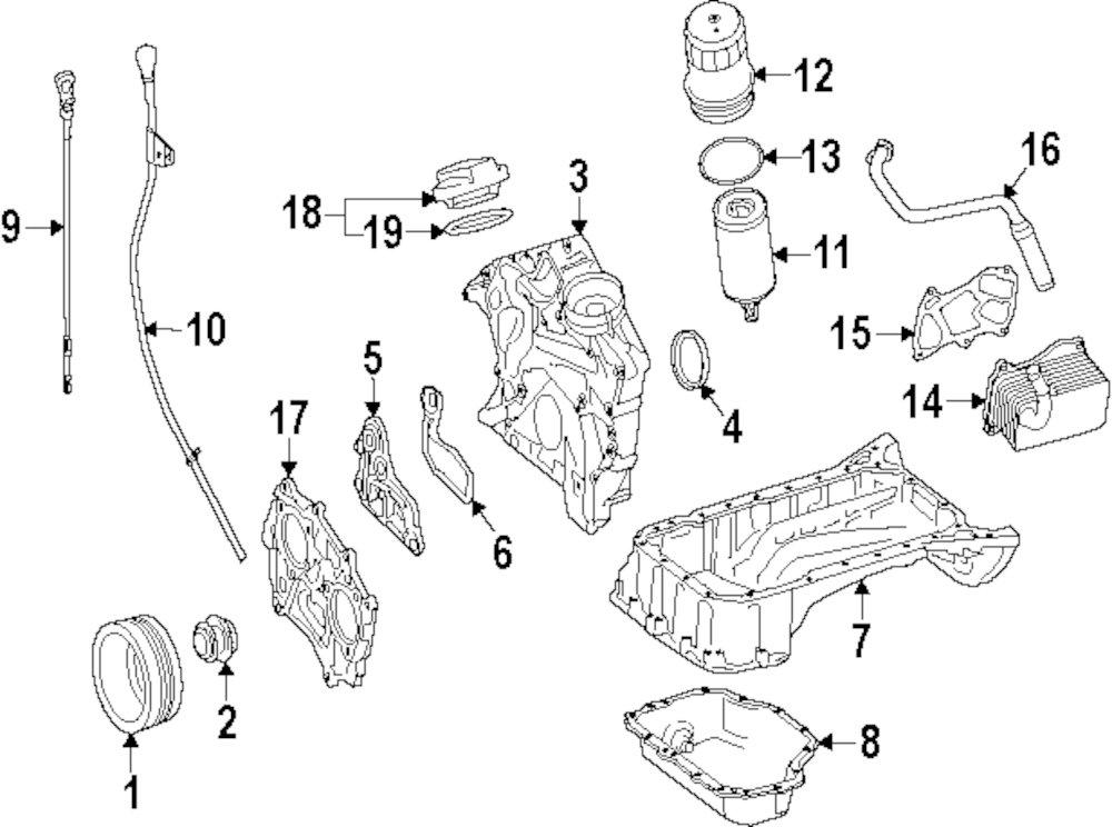 Engine Parts Parts For Mercedes Benz Vehicle