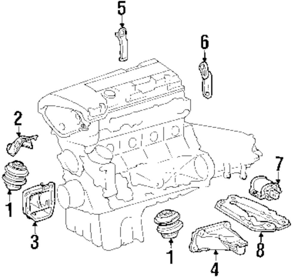 mopar direct parts dodge chrysler jeep ram wholesale retail parts Jeep CJ5 V6 Engine genuine mercedes benz heat shield mbz 2032410534