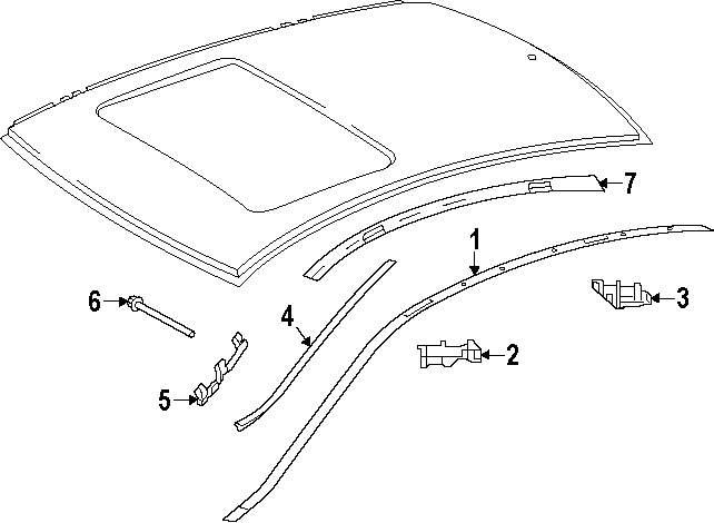 Buy roof parts for mercedes benz c350 vehicle for Mercedes benz exterior parts