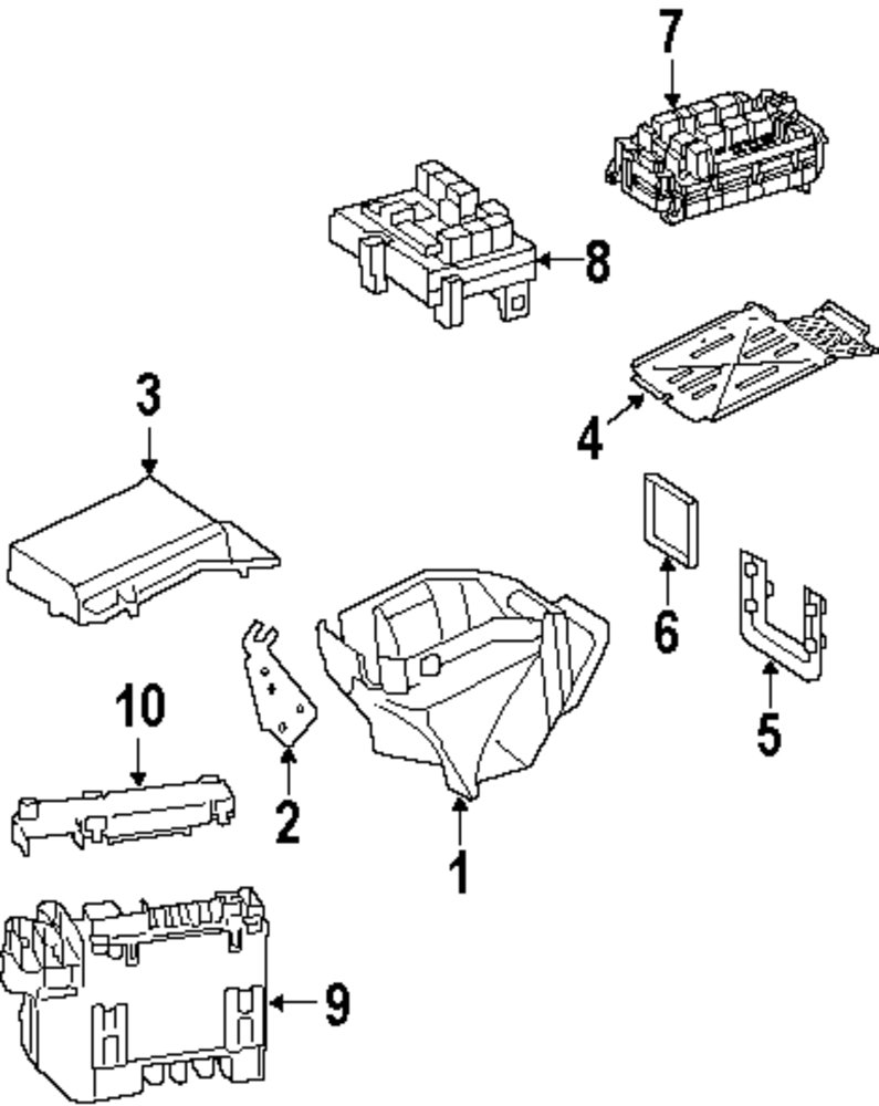 Browse A Sub Category To Buy Parts From Mercedes Benz Fuse Box Layout Genuine Cap Mbz 2215460835