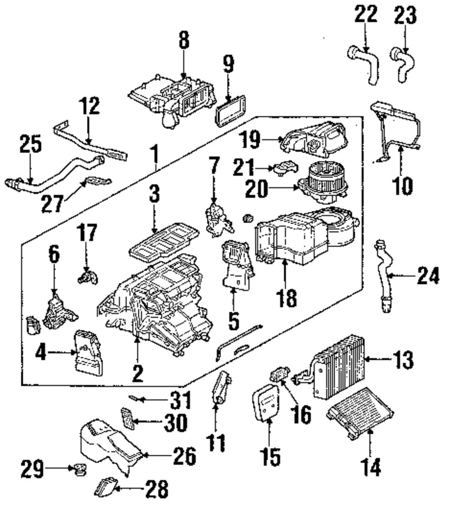 Browse A Sub Category To Buy Parts From 1993 Mercedesbenz 400sel Engine Wiring Harness Genuine Mercedes Benz Switch Mbz 2038218651