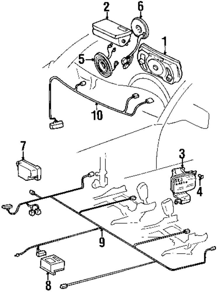 1992 Mercedes 300se Fuse Diagram