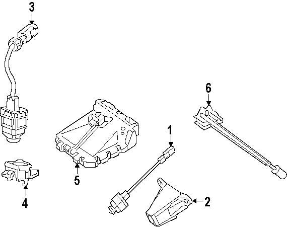 Mopar Direct Parts Dodge Chrysler Jeep Ram Wholesale Retail Side Camera Wiring Diagram Genuine Mercedes Benz Bracket Mbz 2048880014