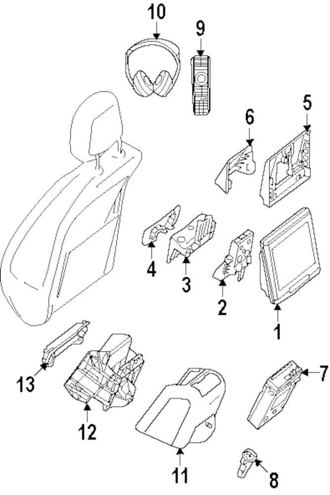 browse a sub category to buy parts from mopardirectparts Home Office Systems genuine mercedes benz monitor reinforcement mbz 0009130116