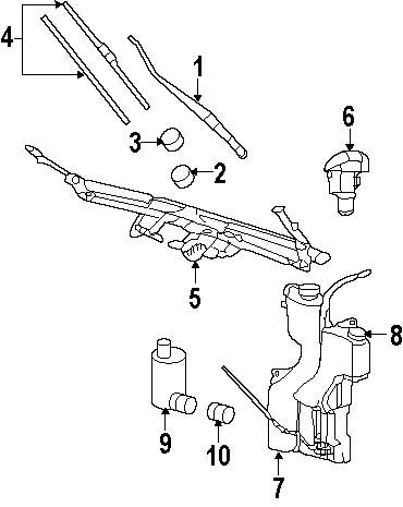 Mitsubishi Wiper Motor Diagram Trusted Wiring Diagrams Cardone 2008 Raider And Washer Components Parts This Is Dodge Genuine