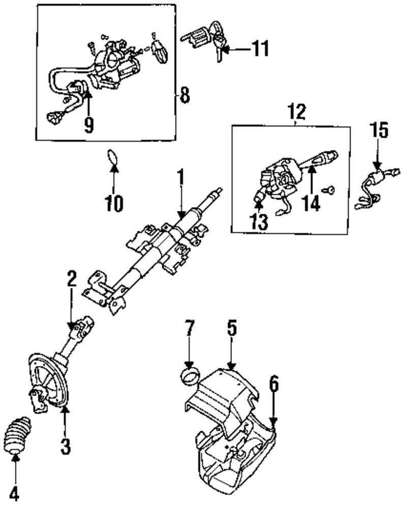 Browse A Sub Category To Buy Parts From Mitsubishi Steering Diagram Genuine Switch Mit Mb953675