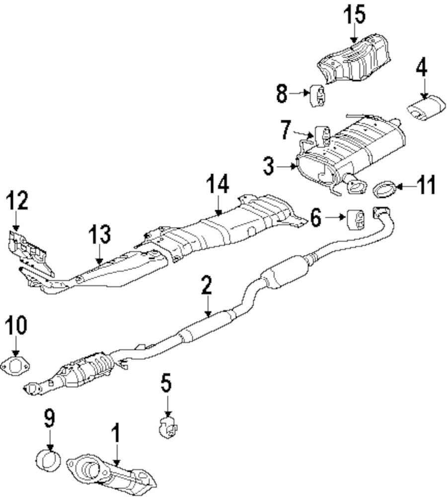 2006 mercury monterey parts diagram