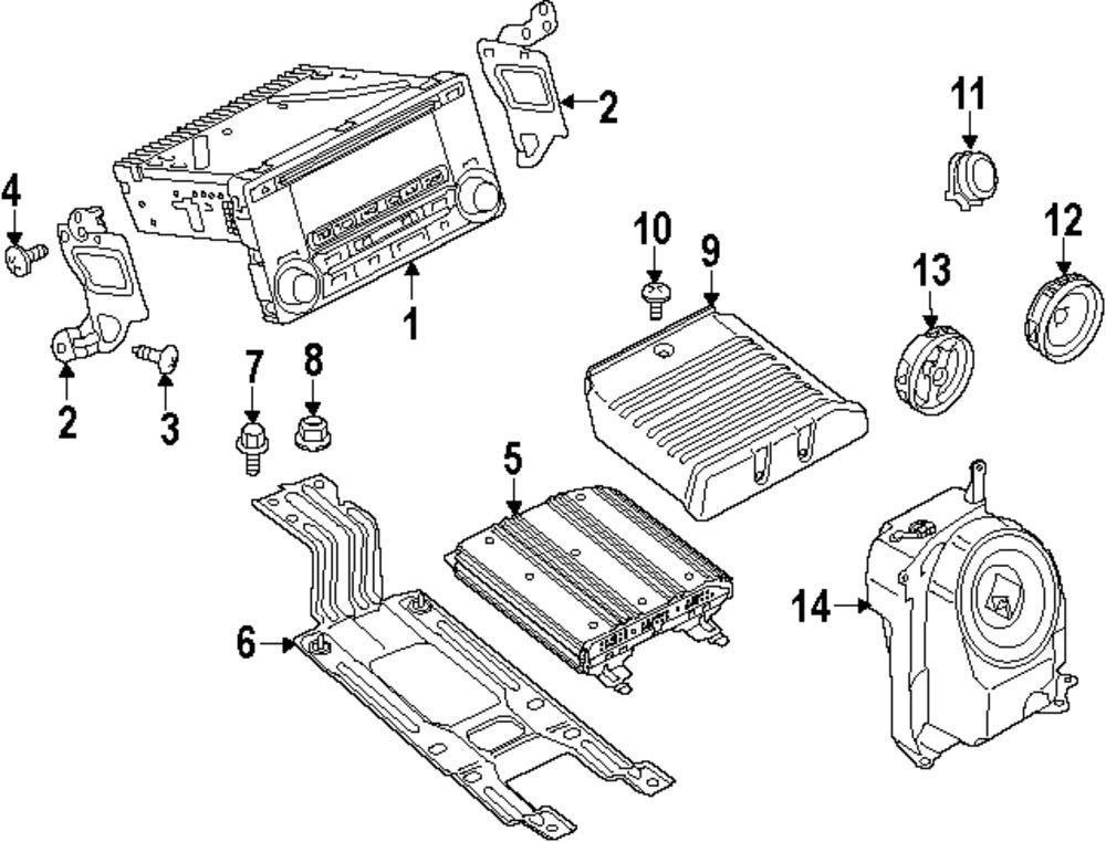 1989 Mitsubishi Mighty Max Parts Diagram