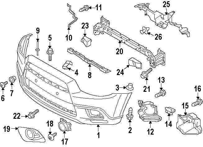 mitsubishi outlander 2007 radiator parts diagram imageresizertool com 2012 Camry Fuse Box Diagram 2012 Wrangler Fuse Box Diagram